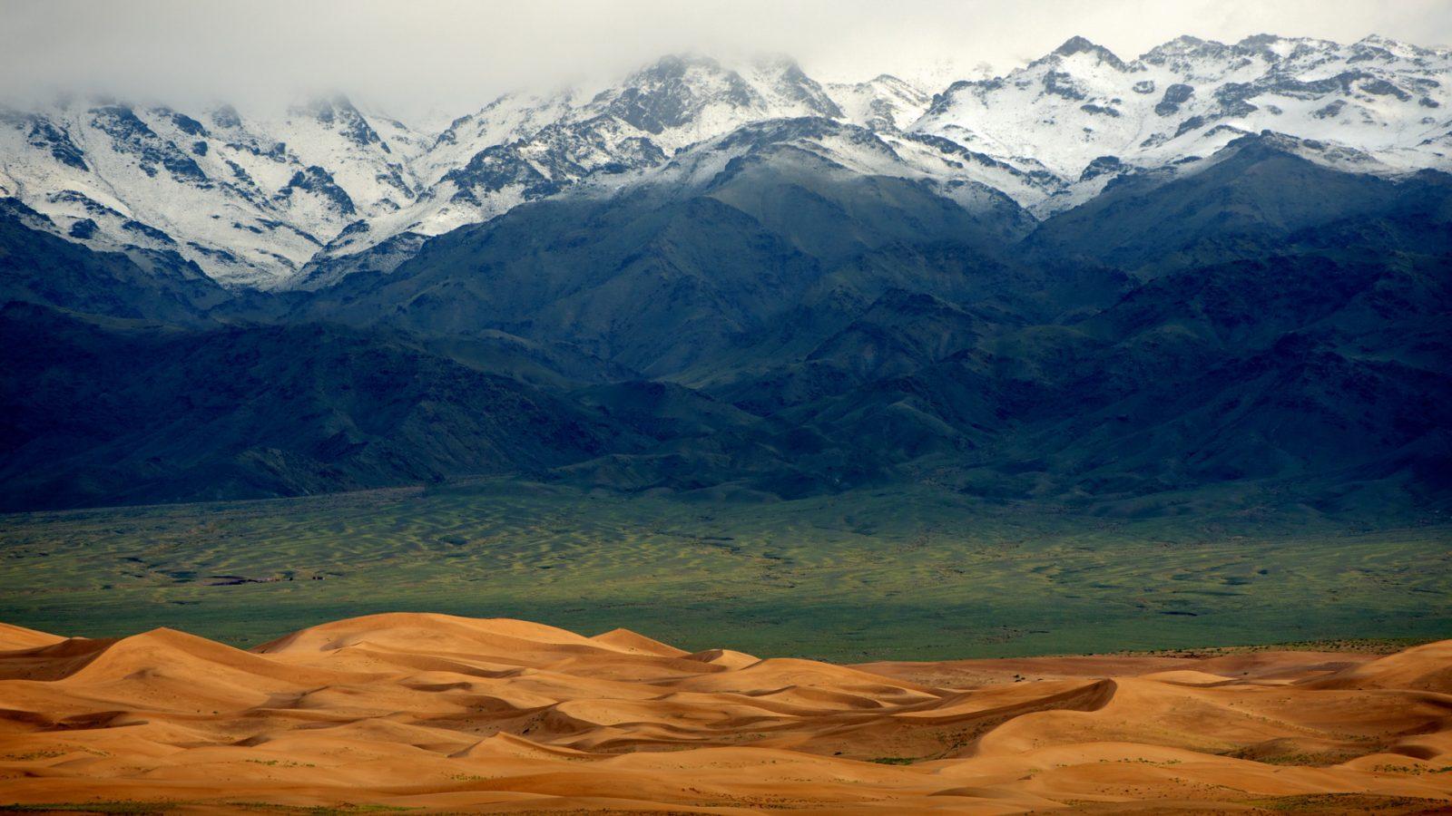 Khongor Els, Süd-Gobi, Mongolei